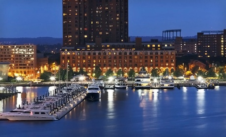 Four-Star Hotel on Baltimore's Inner Harbor