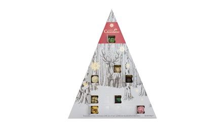 1, 2 of 3 luxe kerst adventskalender dozen van Martins Chocolatier