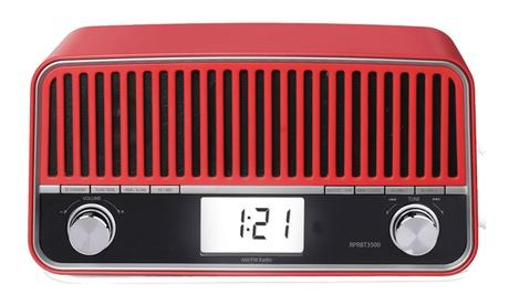 Radio Bluetooth multifunción de diseño retro Sunstech (envío gratuito)
