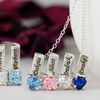 Mother's Necklace with Birthstone Charms