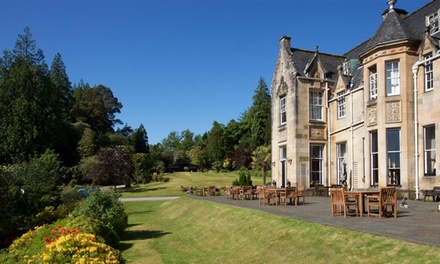 Loch Fyne: Classic Double Room for Two with Breakfast and Optional £50 Food & Beverage Credit at Stonefield Castle Hotel