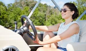 Ferienwohnungen Burke: 4 Std. oder 8 Std. Motoryacht-Verleih für bis zu 5 Personen bei Ferienwohnungen Burke (bis zu 43% sparen*)