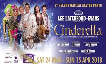 image for Cinderella Easter Panto, 29 - 30 March, St. Helens Theatre Royal (Up to 33% Off)