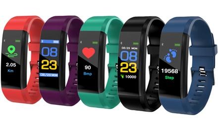 1 o 2 fitness tracker disponibili in vari colori