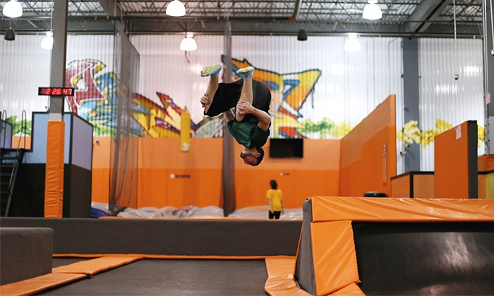 Flight Trampoline Park - Colonie: $22 for Two Jump Sessions at Flight Trampoline Park ($36 Value)
