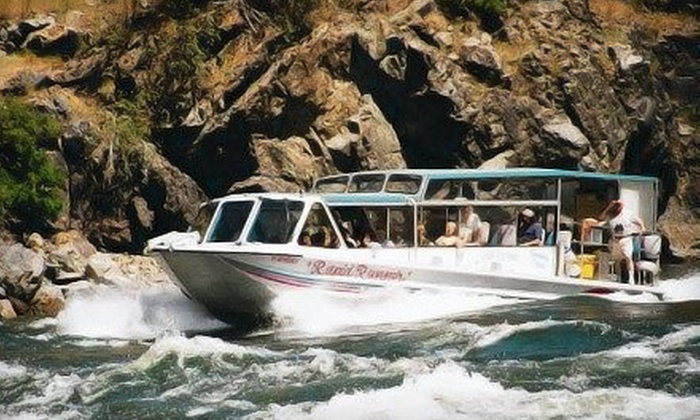 Beamers Hells Canyon Tours - Beamers Hells Canyon Tours: $99 for an All-Day Jet-Boat Tour with Lunch and Drinks from Beamers Hells Canyon Tours ($209 Value)