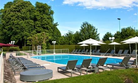Groupon.it - Vosgi: camera doppia o matrimoniale confort con Spa, colazione, menu per 2 all'Hotel Cosmos Domaine de Contrexéville