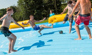 Soapy Football: One or Two Hours of Soapy Football for 14 Players at Soapy Football (Up to 50% Off)