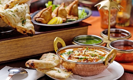 ThreeCourse Indian Meal with a Glass of Wine for Two $39 or Four People $75 at Cinnamon Club Up to $166 Value
