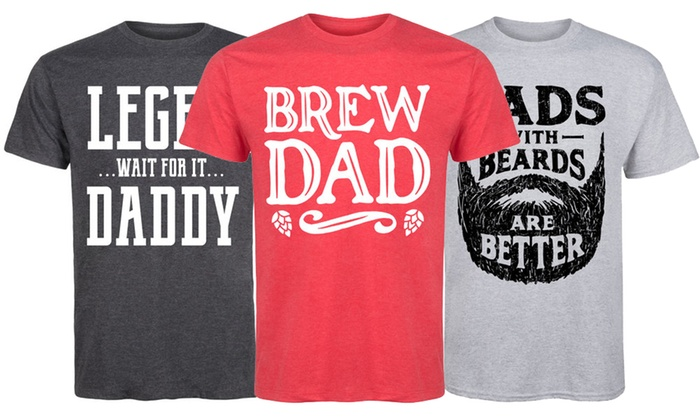 2fef61c4 Up To 51% Off on Men's Cool Dad Tees | Groupon Goods