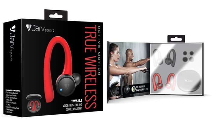 Jarv Active Motion Wireless Bluetooth 5 1 Stereo Earbuds Groupon