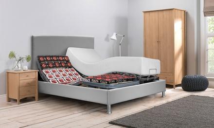 Lit électrique et matelas à mémoire de forme, avec tête de lit en option. Livraison offerte