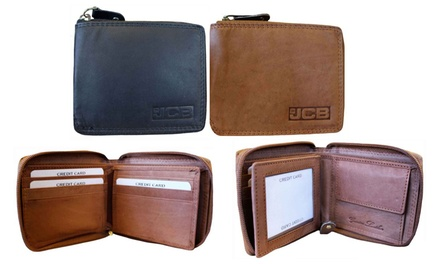 One or Two JCB Compact Leather Wallets