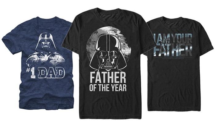 Star Wars Men's Dad Tees