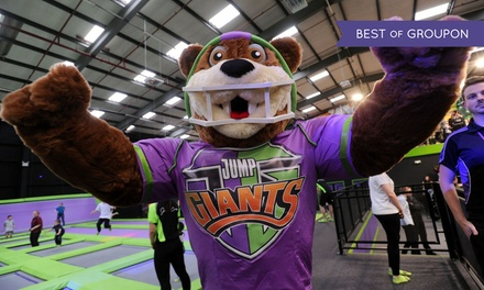 Trampoline Party for Up to 12 Children at Jump Giants-A (up to 26% Off)