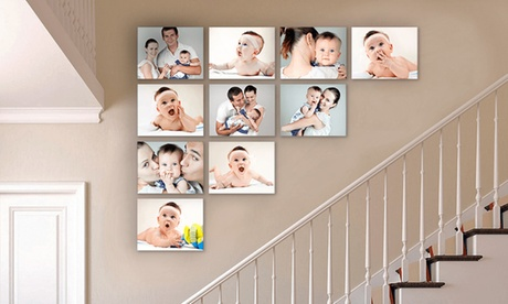 "8""x10"" Custom Canvas Prints from Simple Canvas Prints (Up to 96% Off). Eight Options Available."