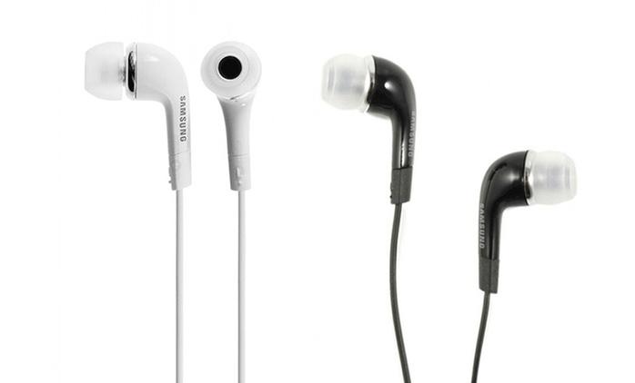 Écouteurs Samsung avec télécommande et kit mains-libres, coloris au choix dès 5,99€ (jusqu'à - 59%)