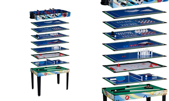 Groupon goods global gmbh deal du jour groupon - Table de jeux 5 en 1 ...