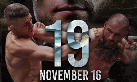One or Two Tickets to BKB 19 Bare Knuckle Boxing Match, 16 November, Indigo at The O2