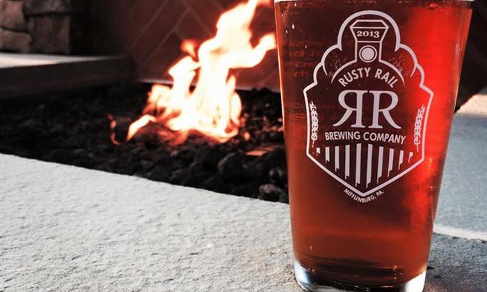 Rusty Rail Brewing Co. - Rusty Rail Brewing Co.: $18 for $30 Worth of  Brewery Dining at Rusty Rail Brewing Co.