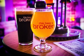 Broken Goblet Brewing: Beer and Gift Cards at Broken Goblet Brewing (Up to 42% Off). Three Options Available.