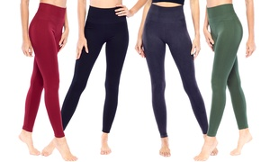 Electric Yoga Women's High-Waisted Slimming Compression Leggings