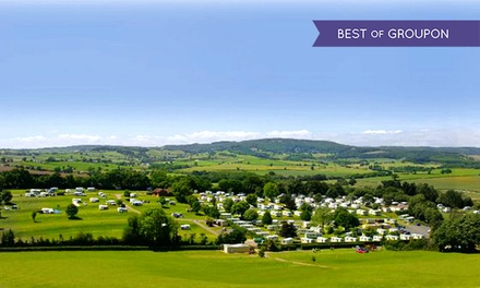 Devon: 2–7 Nights Caravan or Motorhome Pitch with Electricity at the 4* Cofton Country Holiday Park