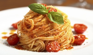 The Italian Cafe: Italian Cuisine at The Italian Cafe (Up to 50% Off). Four Options Available.