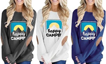 Leo Rosi Women's Happy Camper Top