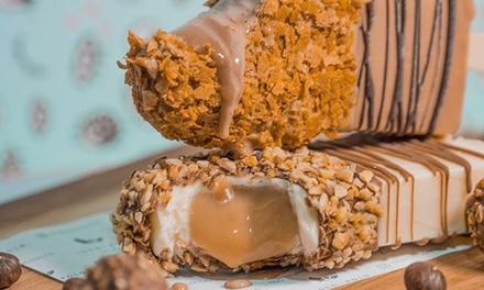Loco polos gourmet con toppings o café con brownie o gofre en uno de los 4 Loco Polo (hasta 38% de descuento)