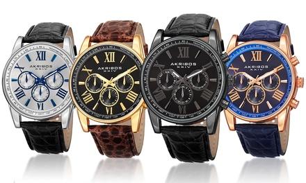 Montre de la marque Akribos XXIV , coloris au choix