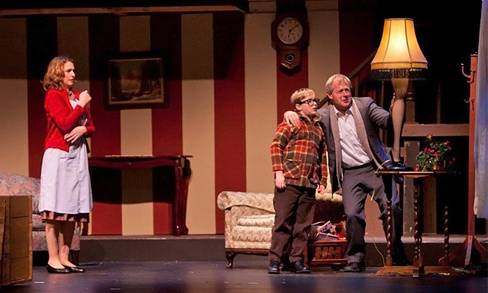 """""""A Christmas Story"""" - Whitaker Center: """"A Christmas Story"""" for Two at Whitaker Center on November 7–23 (Up to 55% Off)"""