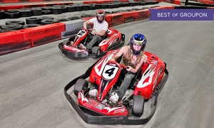MB2 Raceway : Junior or Adult Go-Kart Races, VIP Track Pass with Race Discounts, or Birthday Party Package at MB2 Raceway (Up to 50% Off)