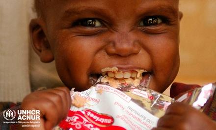 ¿Y si pudieras ayudar a un niño con desnutrición aguda?