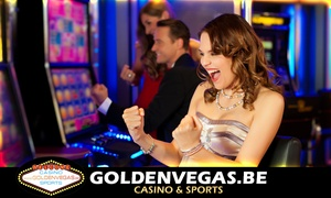Golden Vegas Casino: 25€, 50€ ou 75€ de crédit jeu à valoir sur Goldenvegas.be Casino en ligne dès 5€