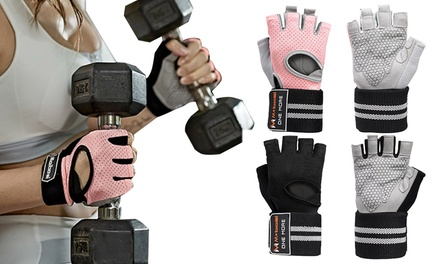 Breathable Weight Lifting Gloves: One Pair ($19) or Two Pairs ($29)