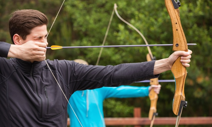 A-1 Sports and Wellness Center - Cary: Beginners' Archery Lesson for Two or Four at A-1 Sports and Wellness Center (Up to 59% Off)