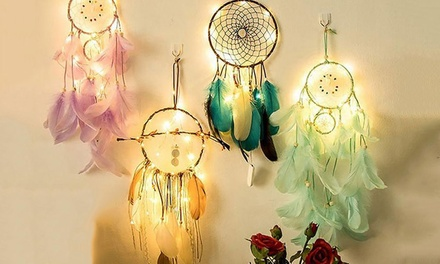 LED Dreamcatcher: One ($15) or Two ($26)