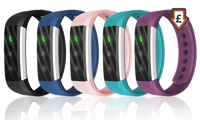 One or Two Aquarius Lite Fitness Trackers From £10.99