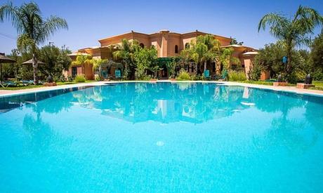 Marrakech: camera doppia con colazione per 2 adulti e 1 bambino, cena opzionale a Las Palmeras