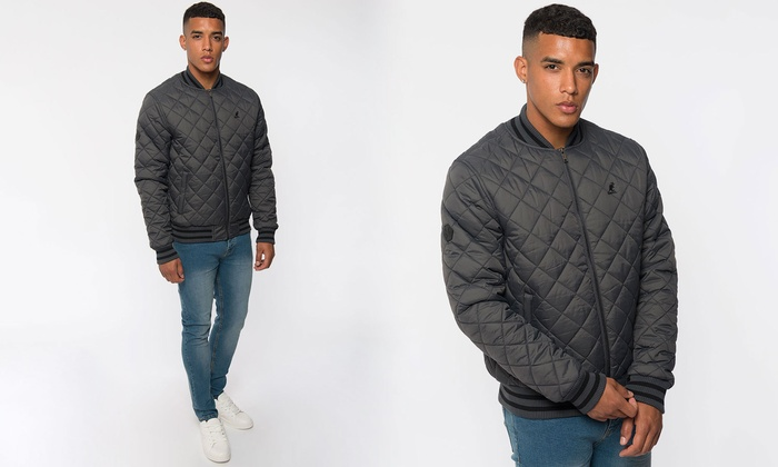 758bf0ee3 Kangol Quilted Bomber Jackets | Groupon