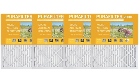 Purafilter Gold High-Efficiency Furnace Air Filters (4-Pack)
