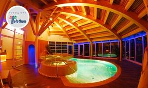 Montana Wellness: Montana Wellness - Percorso Day Spa per 2 o 4 persone con vista sulle Dolomiti del Brenta