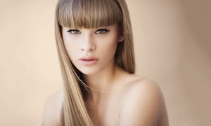 Wings hair & beauty: Damenfriseur-Paket, opt. inkl. Permament Colour bis Kinnlage bei Wings Beauty (bis zu 60% sparen*)
