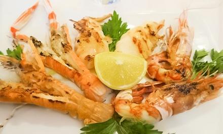 ⏰ Pesce, crostacei e vino, Ostiense