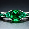 Lab-Created Emerald Ring By Peermont