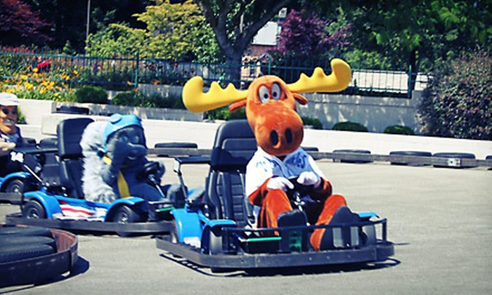 Wilsonville Family Fun Center & Bullwinkle's Restaurant - Wilsonville Family Fun Center & Bullwinkles Restaurant: $13.20 for $25 Worth of Attractions at Wilsonville Family Fun Center & Bullwinkle's Restaurant