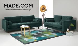 Made: Mobilier, décoration, accessoires design... Bon d'achat de 60 € au prix de 30 € valable sur le site Made