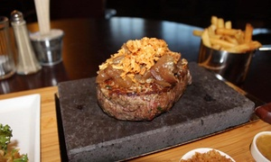 Mary K's Kitchen: 8oz Steak on a Stone Meal for Two or Four at Mary K's Kitchen (34% Off)