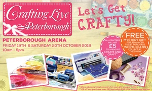 Crafting Live: Crafting Live, One- or Two-Day Tickets, 19 - 20 October, Peterborough Arena (Up to 40% Off)